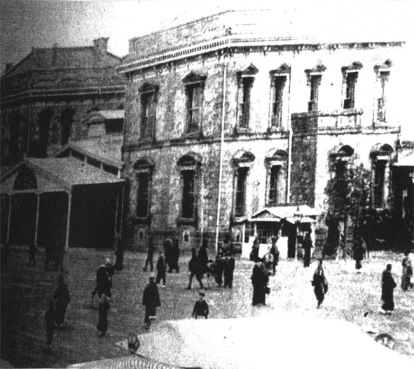 当時の大阪駅(交通科学博物館)
